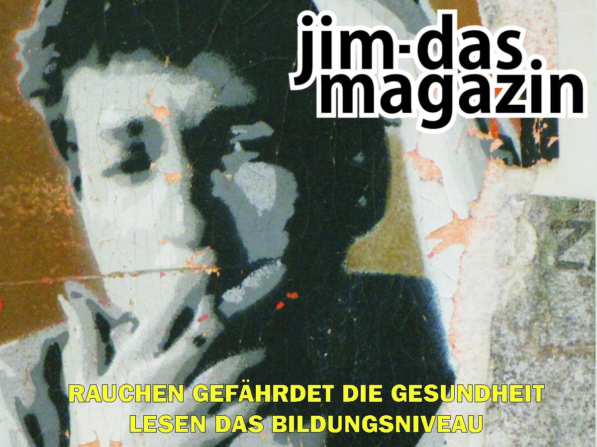JiM - Das Magazin: Lesen gefährdet das Bildungsniveau