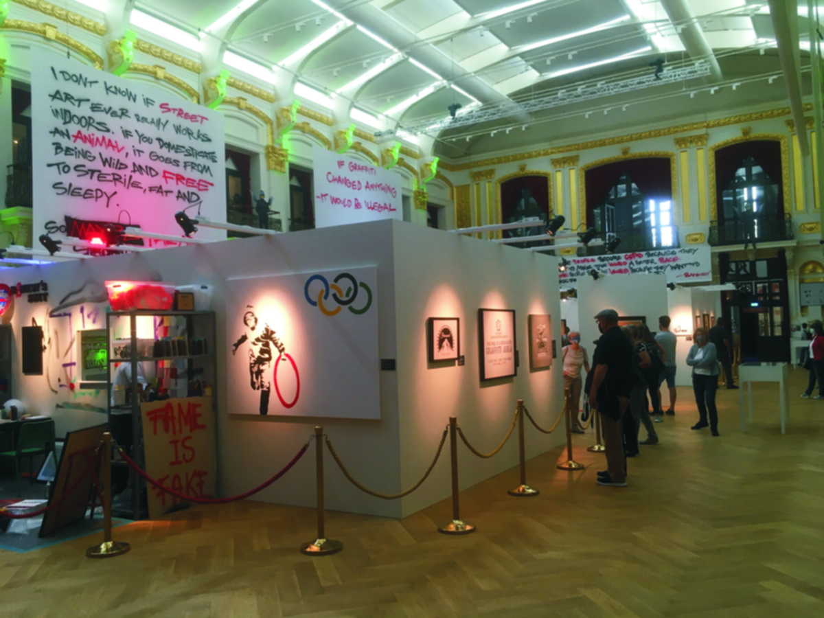 Ausstellung The Art Of Banksy in Wien